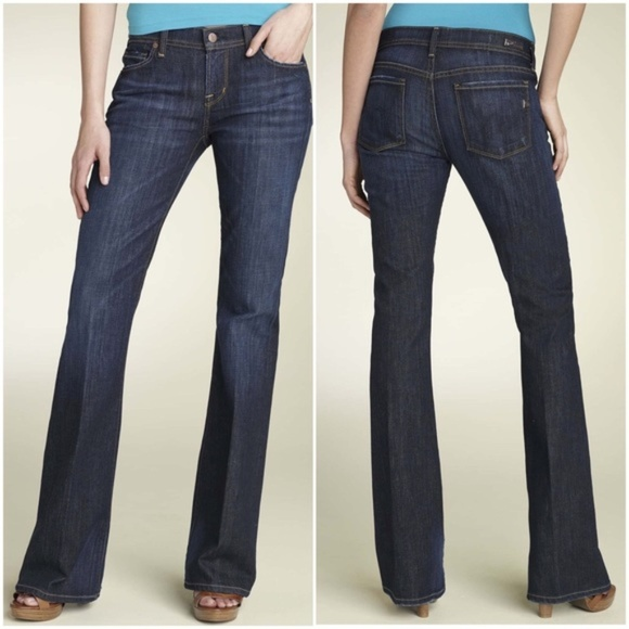 Citizens of Humanity Denim - Citizens of Humanity Ingrid Low Waist Flare Jeans